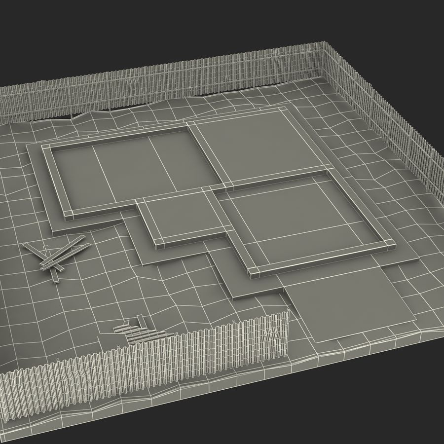 Cantiere 3 royalty-free 3d model - Preview no. 21