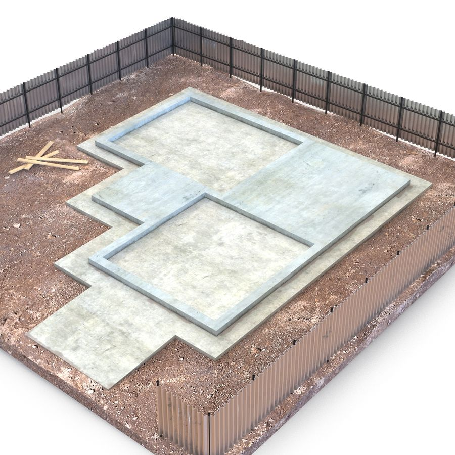 Cantiere 3 royalty-free 3d model - Preview no. 9