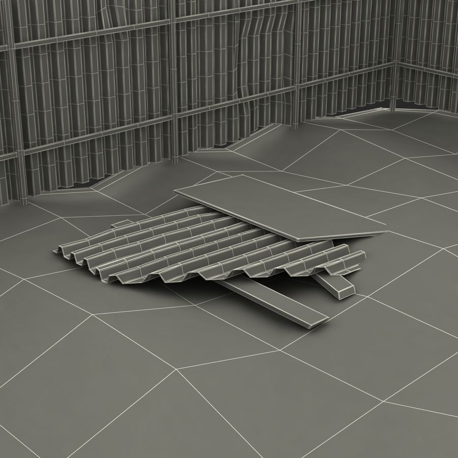 Cantiere 3 royalty-free 3d model - Preview no. 24