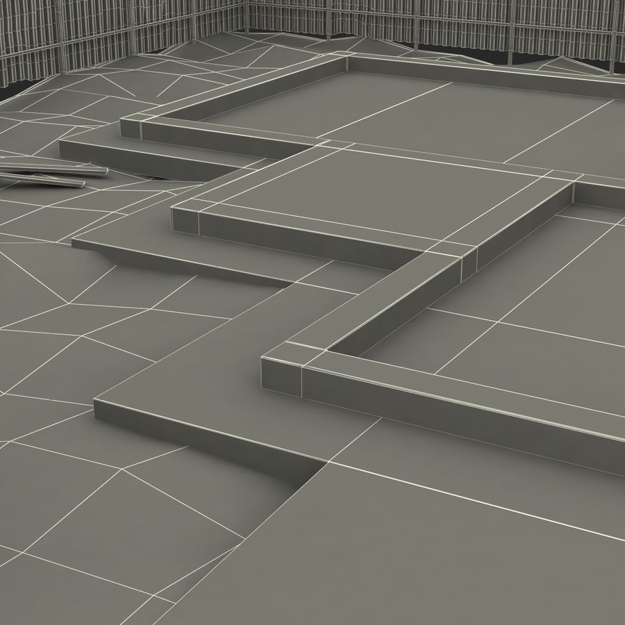 Cantiere 3 royalty-free 3d model - Preview no. 23