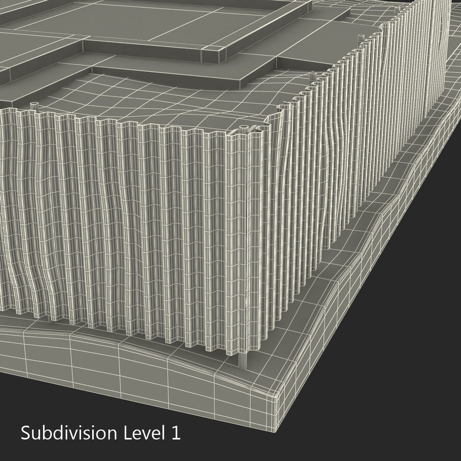 Cantiere 3 royalty-free 3d model - Preview no. 14
