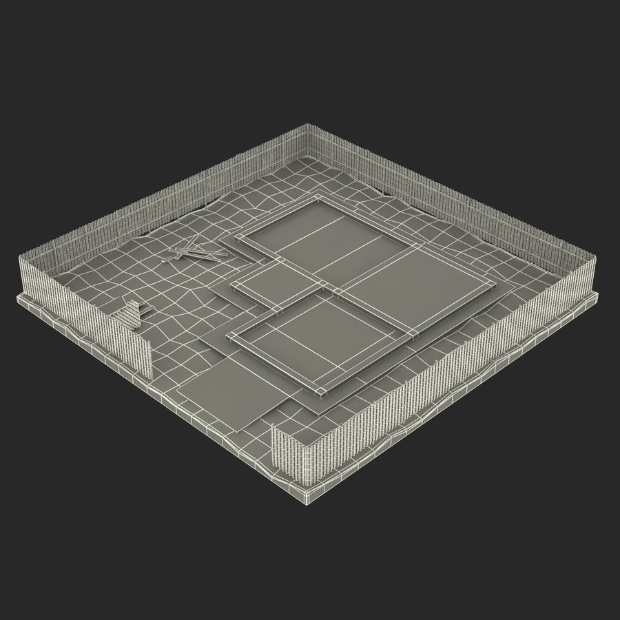 Cantiere 3 royalty-free 3d model - Preview no. 19