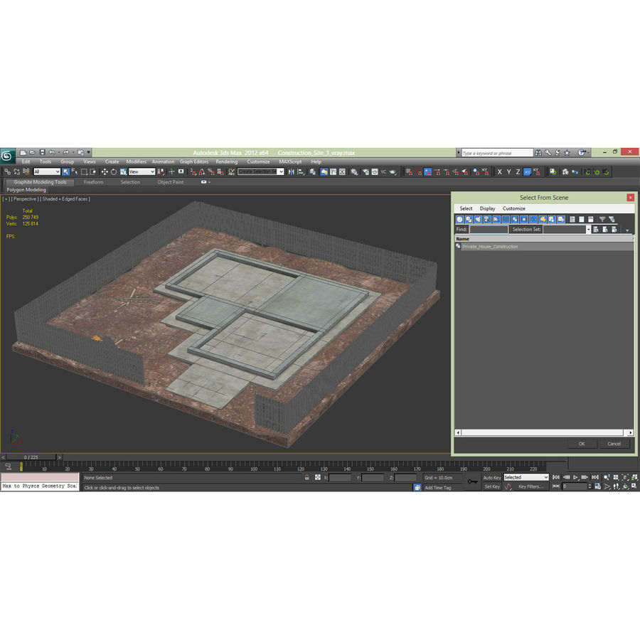 Cantiere 3 royalty-free 3d model - Preview no. 18