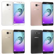 Samsung Galaxy A7 (2016) Alla färger 3d model