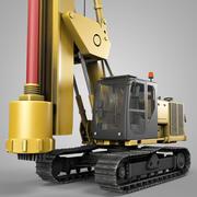 Roterende boorinstallatie 3d model