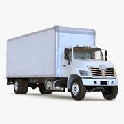 Box Truck Simple Interior 3d model