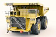 코마츠 930E 마이닝 트럭 3d model