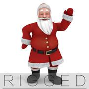 Santa Claus rigged 3d model