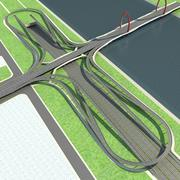 高速公路07 3d model