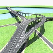 高速公路10 3d model