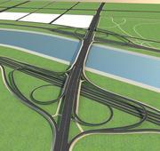 高速公路12 3d model