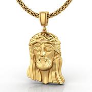 Jesus pendant mini 3d model