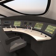 ICE 3 Cockpit 3d model