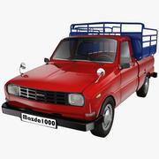 Mazda 1000 Pickup 3d model