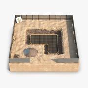 Construction Pit 3 3D Model 3d model