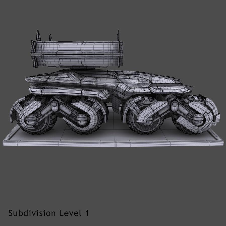 科幻APC坦克 royalty-free 3d model - Preview no. 13