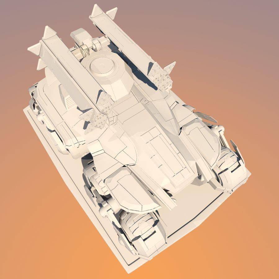 科幻APC坦克 royalty-free 3d model - Preview no. 23