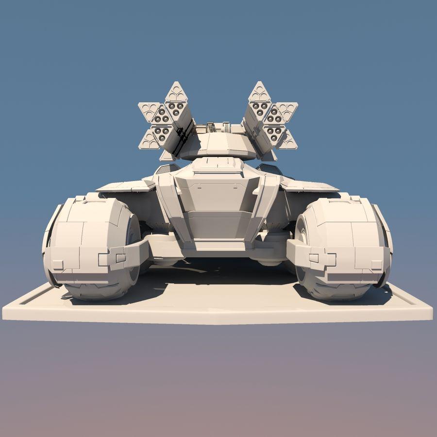 科幻APC坦克 royalty-free 3d model - Preview no. 14