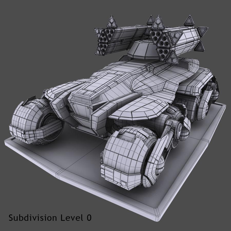 科幻APC坦克 royalty-free 3d model - Preview no. 21