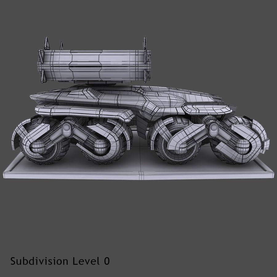 科幻APC坦克 royalty-free 3d model - Preview no. 12