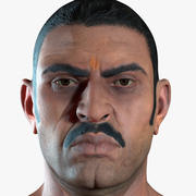 Character Indian Man Full Body 3d model
