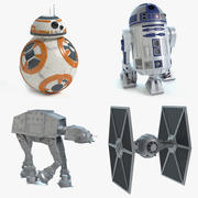Star Wars Collection 3d model