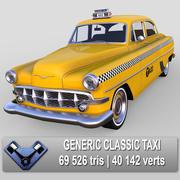 Generic Classic Taxi 3d model