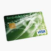 Kredietkaart 3d model