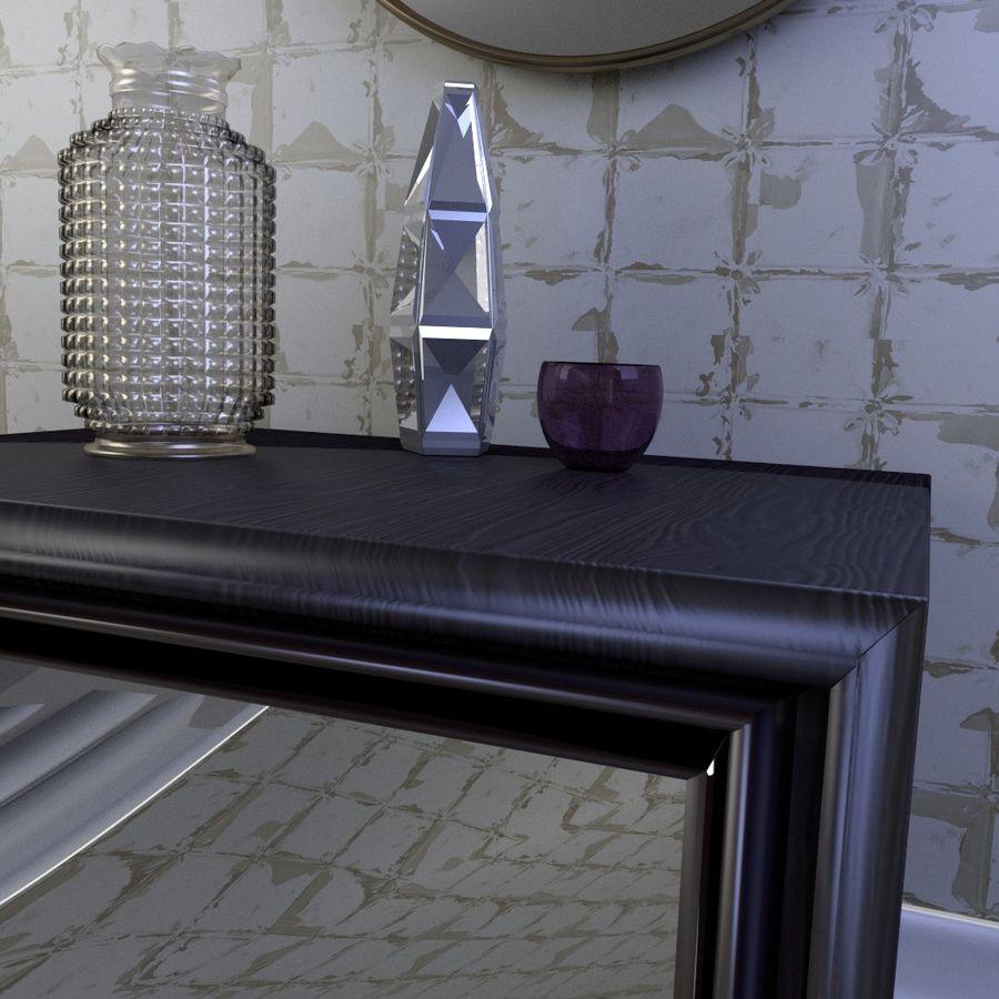 Modern nachtkastje royalty-free 3d model - Preview no. 3