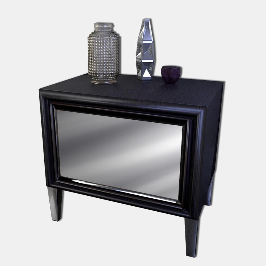 Modern nachtkastje royalty-free 3d model - Preview no. 1
