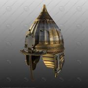 Il casco di Alexander Nevsky V-ray 3d model