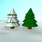 pin árvore 3d model