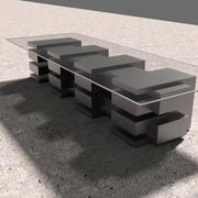 Moderne salontafel 3d model