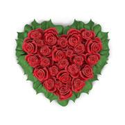 bouquet-heart 3d model