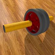 Wheel - O simulador para a imprensa 3d model