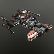 Krążownik terenowy Starcraft 2 Terrain 3d model