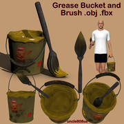 Grease Bucket and Brush.ob.fbx 3d model