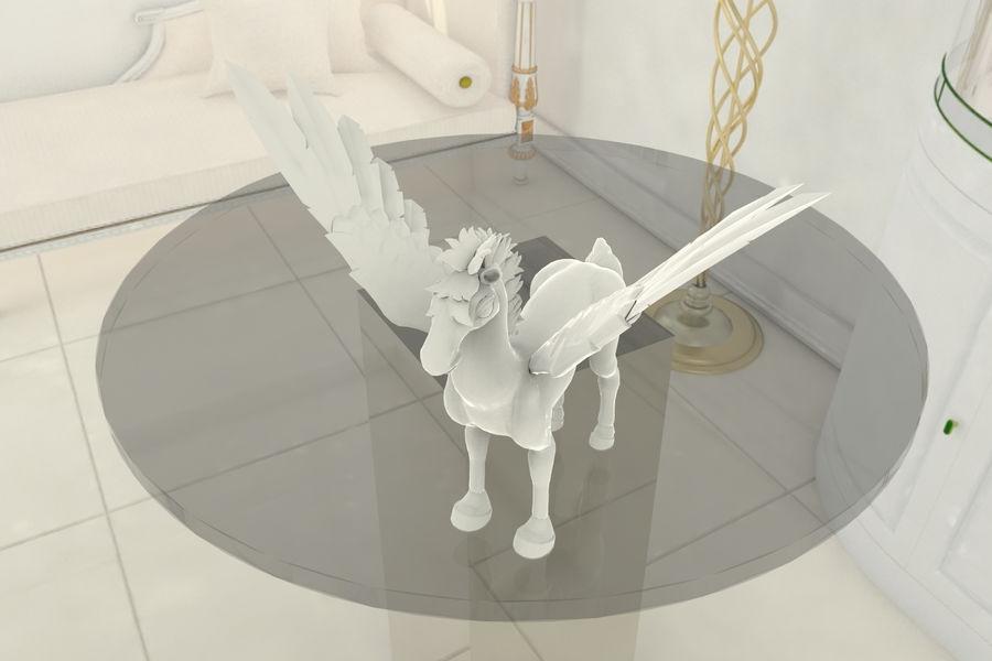 Pegasus MY001 royalty-free 3d model - Preview no. 1