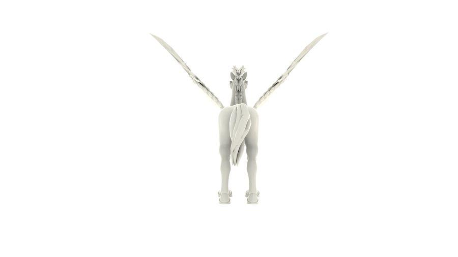 Pegasus MY001 royalty-free 3d model - Preview no. 4