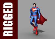 Superman (Rig) 3d model