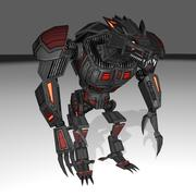 Werewolf Mech 3d model
