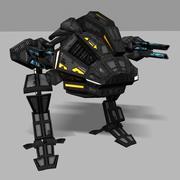 Mecânico de assalto 3d model