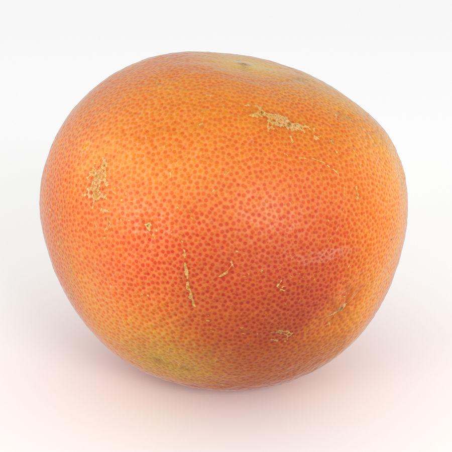 Grapefruit Orange royalty-free 3d model - Preview no. 2