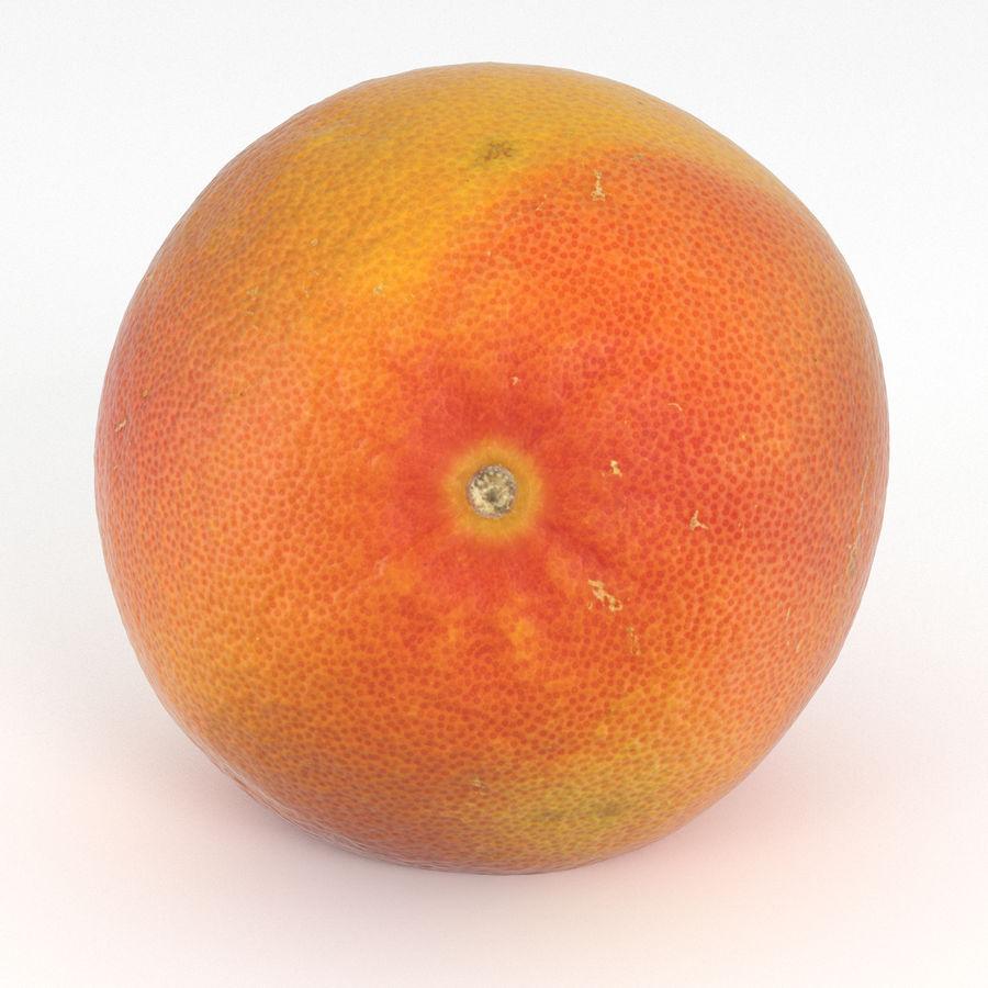 Grapefruit Orange royalty-free 3d model - Preview no. 3