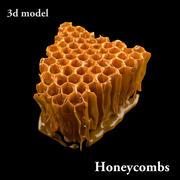 Favos de mel modelo saboroso 3d model