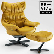 Fotel Re-vive od Natuzzi 3d model