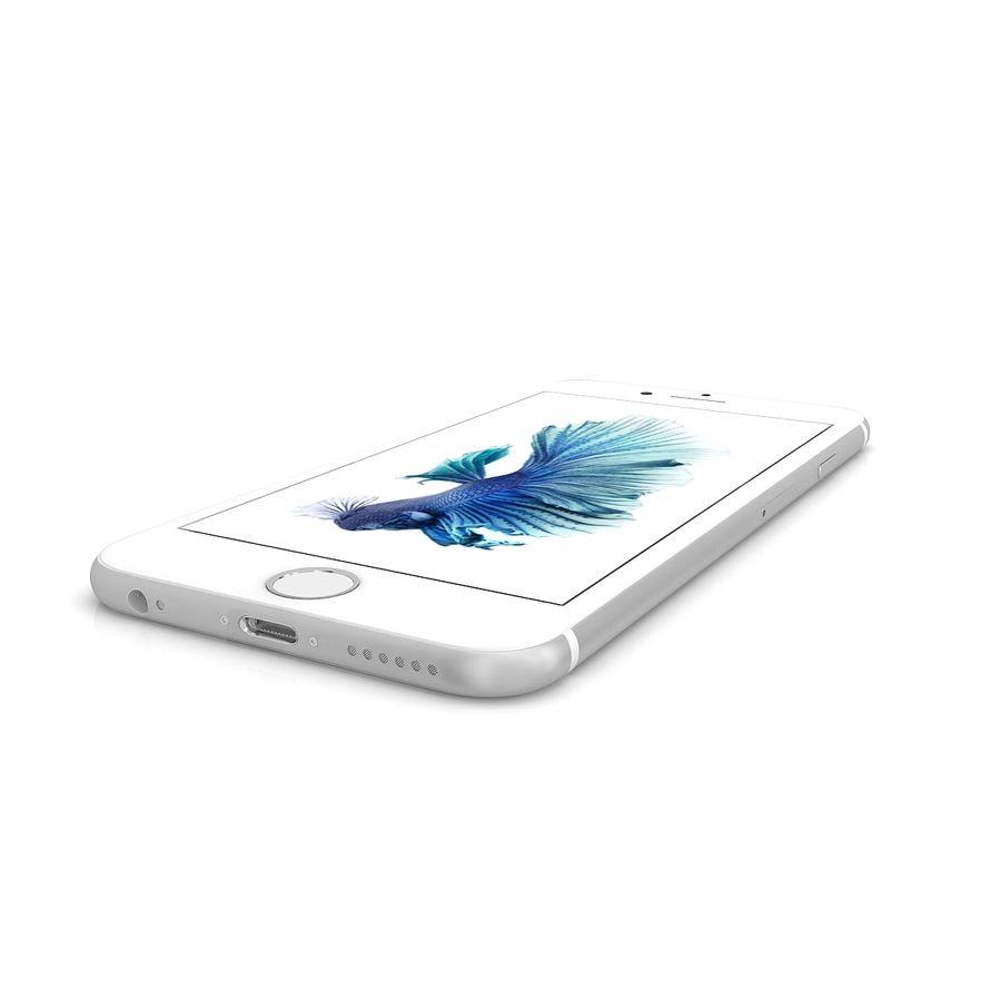 Apple iPhone 6s Gümüş royalty-free 3d model - Preview no. 8