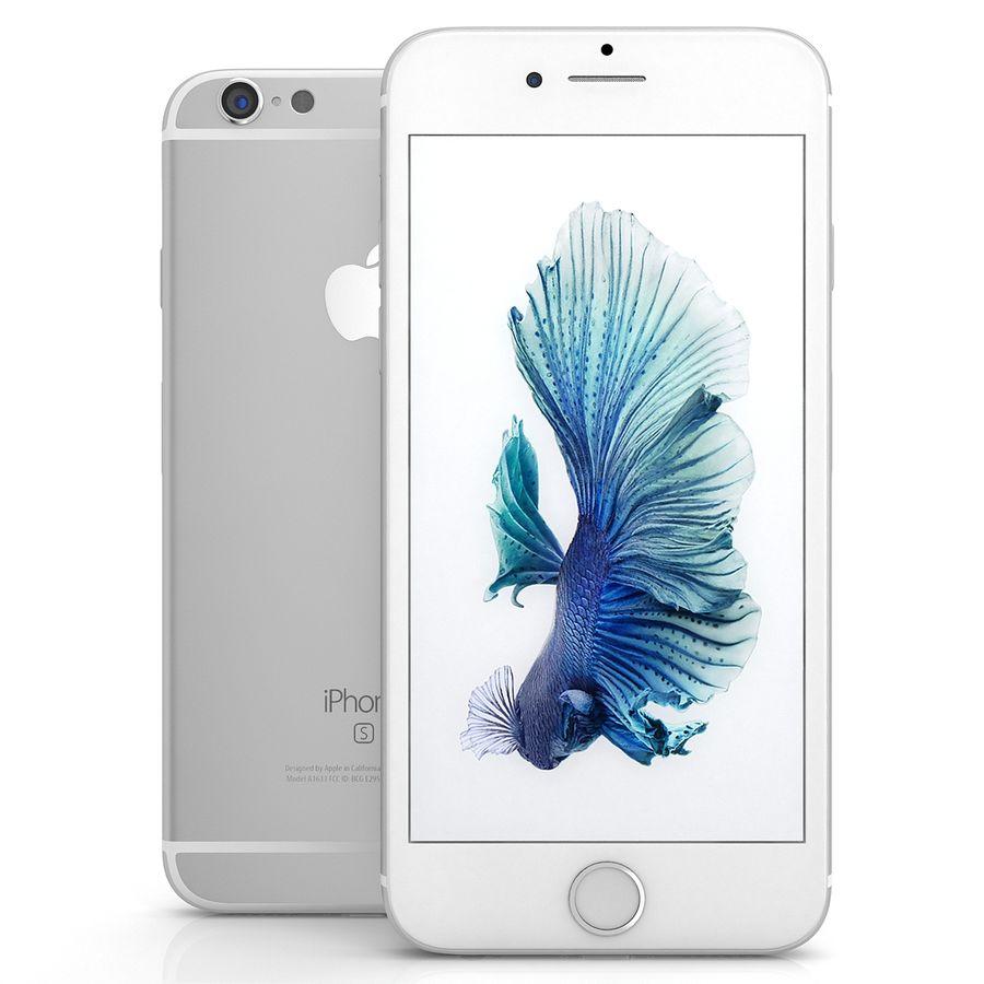 Apple iPhone 6s Gümüş royalty-free 3d model - Preview no. 1