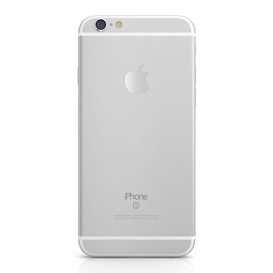 Apple iPhone 6s Gümüş royalty-free 3d model - Preview no. 3
