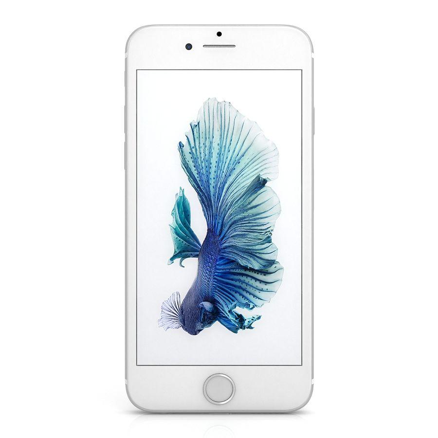 Apple iPhone 6s Gümüş royalty-free 3d model - Preview no. 2